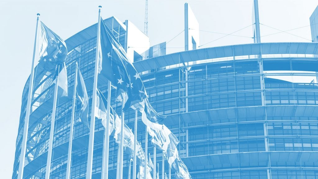 EU Parliament building