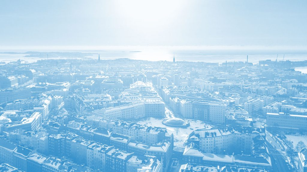 Helsinki aerial photo